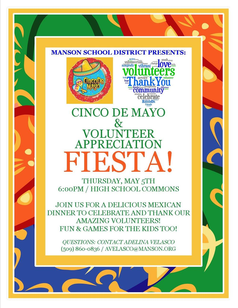 Cinco de Mayo & Volunteer Appreciation!