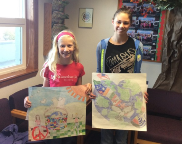 Students win Peace Poster Contest!