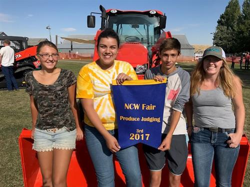 Manson FFA attends NCW Fair