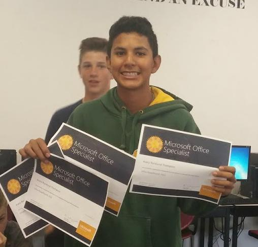 Students Earn Professional Certificates